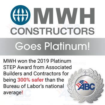 MWH Constructors Goes Platinum